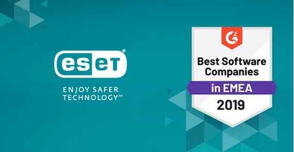 Компанія ESET зайняла четверту позицію серед 900 компаній EMEA.