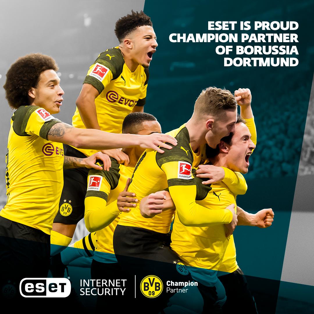 Компанія ESET стала партнером клубу Боруссія Дортмунд
