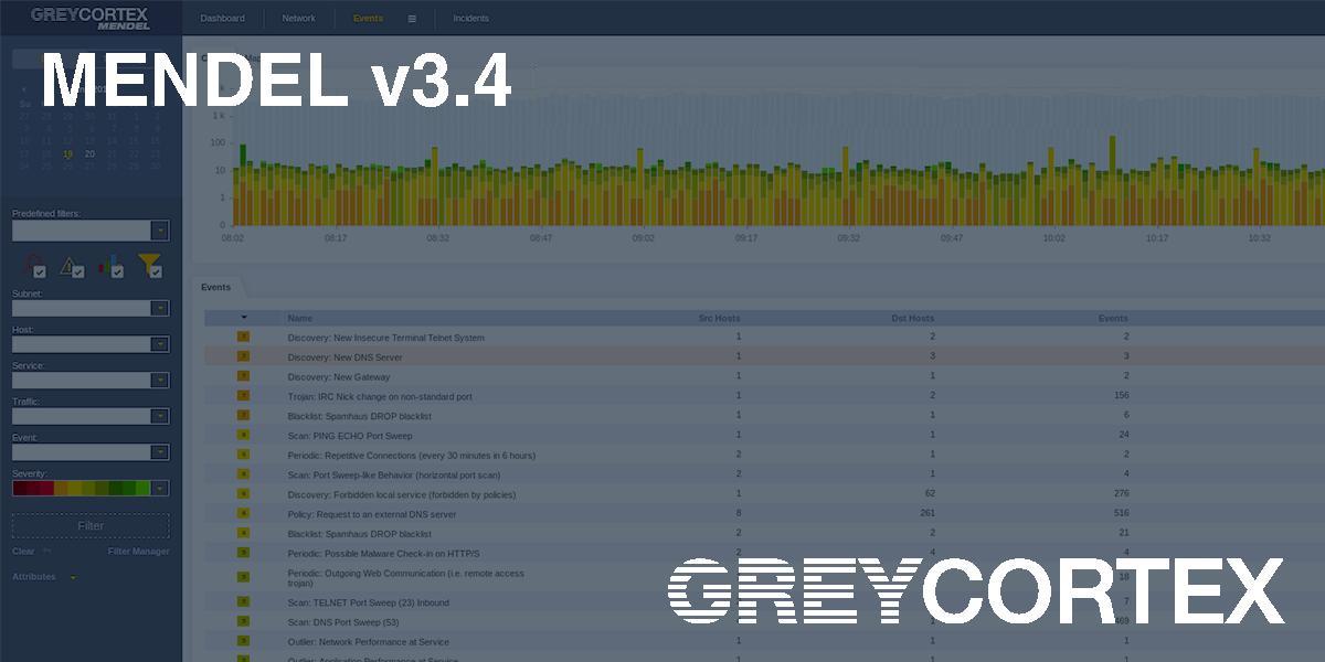 Выявляйте и Выявляйте и анализируйте угрозы в сетевом трафике с помощью GreyCortex Mendel v3.4 – новости компании ESET.анализируйте угрозы в сетевом трафике с помощью GreyCortex Mendel v3.4 – новости компании ESET.