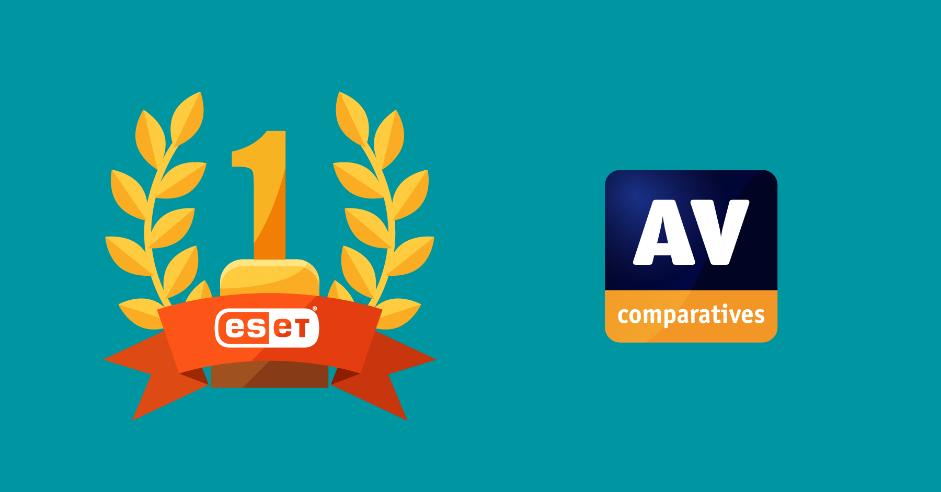 Антивірусна компанія ESET стала лідером серед 16 різних постачальників ПЗ для Windows.