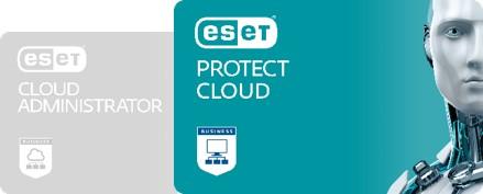 Технология ESET Protect Cloud осуществляет централизованный контроль состояния безопасности сети.