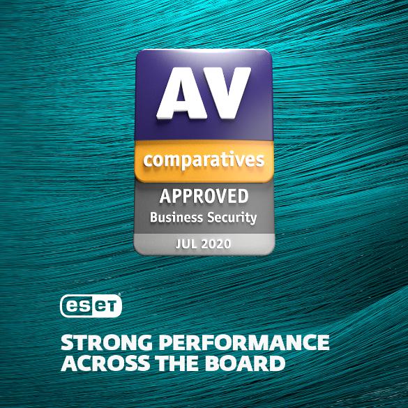 Високі бали AV-Comparatives підтверджують якість антивірусних продуктів ESET.