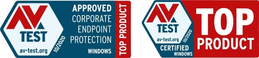 Антивірусні рішення ESET зайняли лідерські позиції в рейтингу AV-TEST 2020 року.