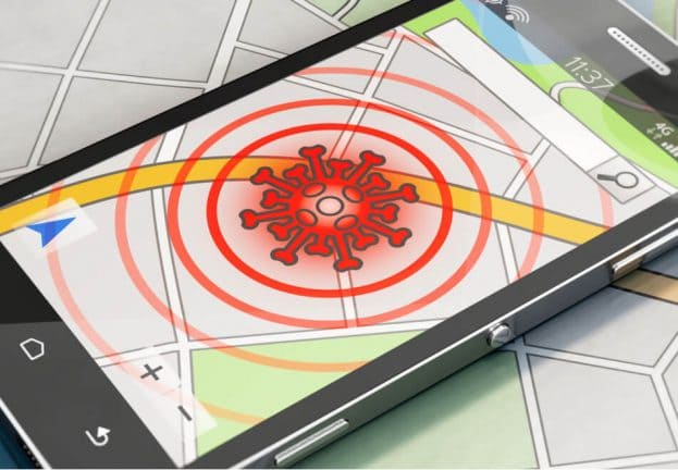 Конфиденциальность приложения для отслеживания контактов COVID-19. Исследование ESET.