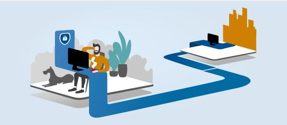 Новые функции Safetica 9.6 для безопасности удаленной работы – рекомендации ESET.
