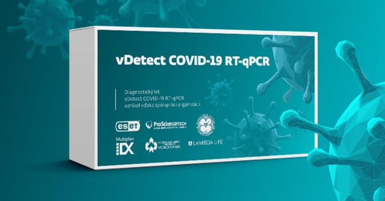 Словацкий тест vDetect COVID-19 RT-qPCR прошел контроль качества государственных служб Словакии. ESET.