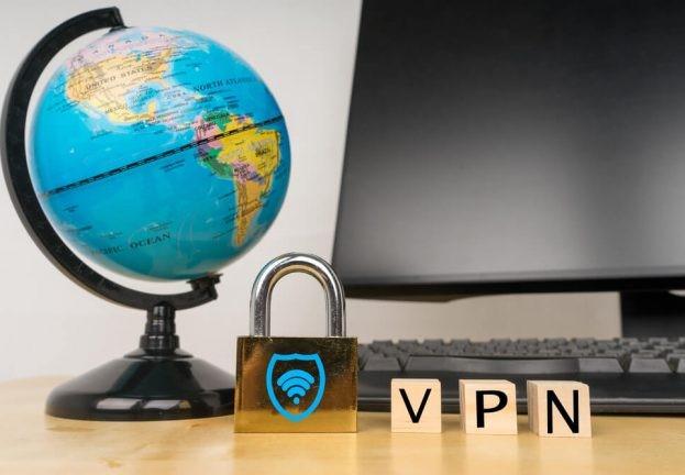 Використовуйте VPN з'єднання для віддаленого підключення до свого робочого столу. ESET.