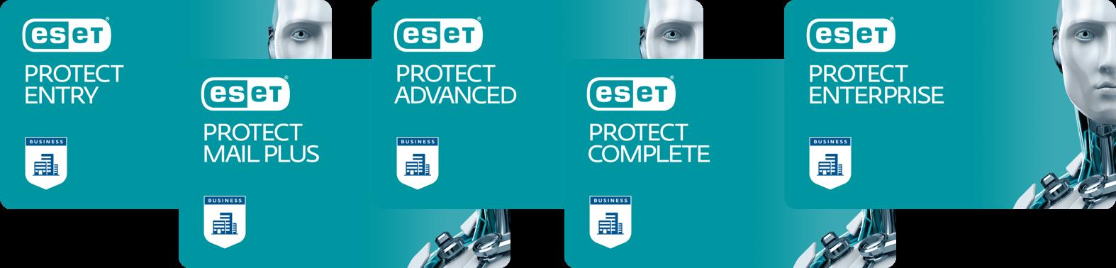 Управляйте новыми решениями локально или в облаке с помощью единой консоли ESET PROTECT.