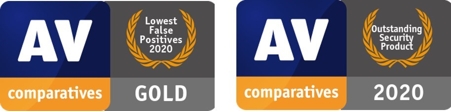 Антивірусний продукт ESET Internet Security досяг найвищої оцінки в 2020 році, отримавши золоту нагороду.