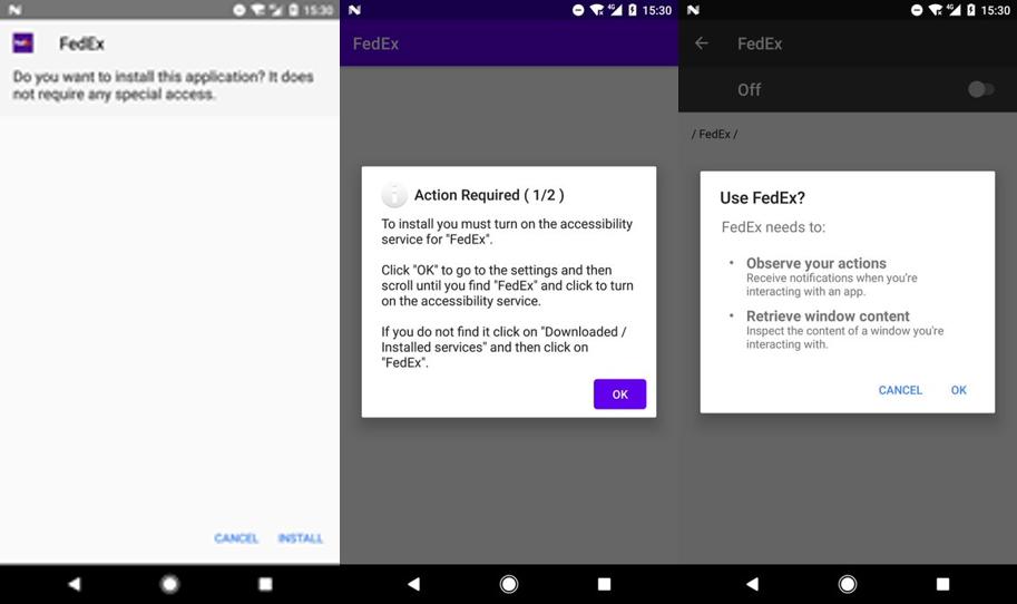 Через вредоносное ПО FluBot для Android злоумышленники получают доступ к данным устройства. ESET.